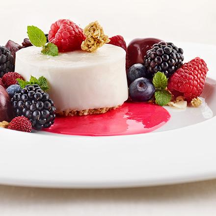 Cheese cake rivisitata alle ciliegie